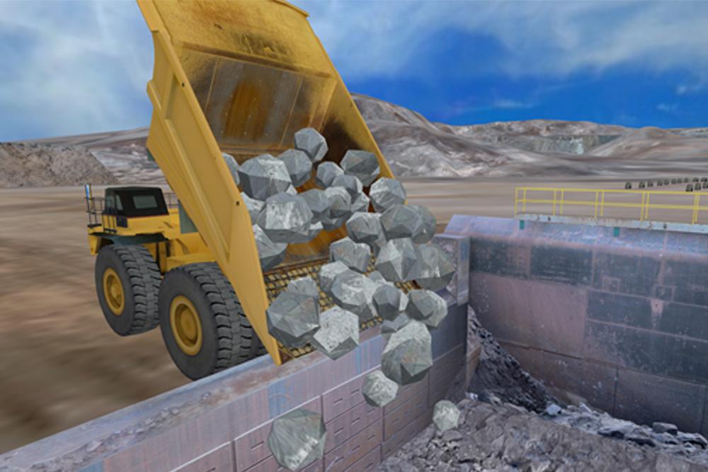 renseignez vous sur le premier simulateur mondial de camion minier simlog. Black Bedroom Furniture Sets. Home Design Ideas