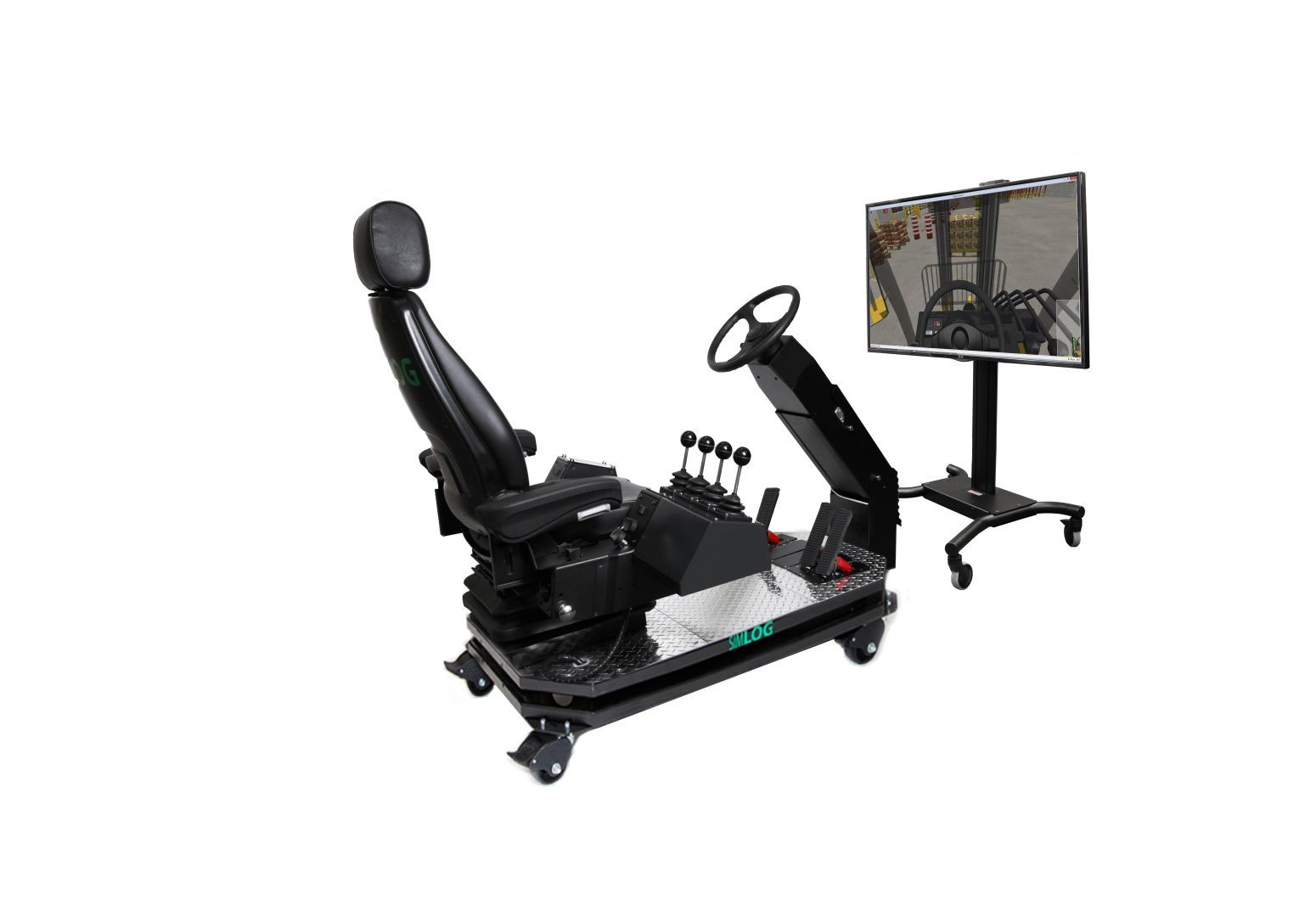 Forklift Operator Chair 1 Display