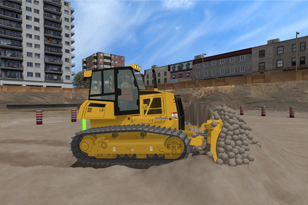 Bulldozer Personal Simulator