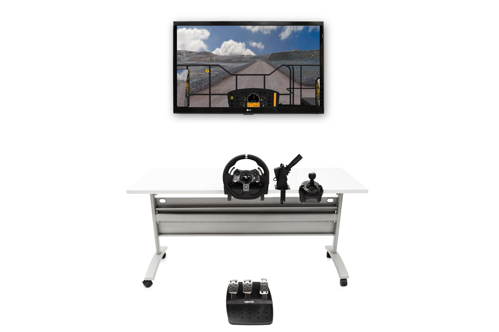 Mining Truck Personal Simulator - Replica Controls