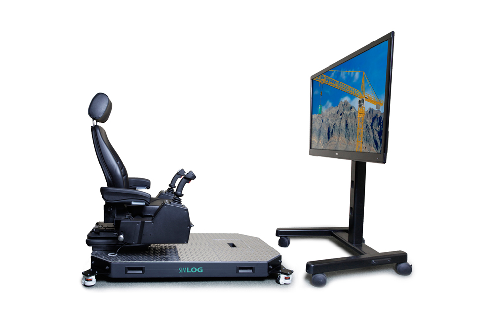 Tower Crane Personal Simulator - Operator Chair
