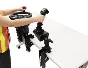 Reach Lift Truck Personal Simulator Replica Controls with Vertical Joystick
